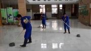杭州绿城育华青青学校地面防滑施工案例